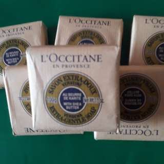 L' OCCITANE VERBENA SOAP 100 GMS 3 FOR 500 PESOS ONLY