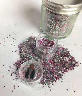Candy Floss biodegradable face glitter