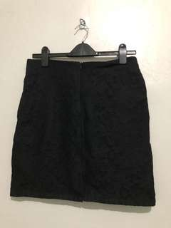 Preloved Lace Office Skirt