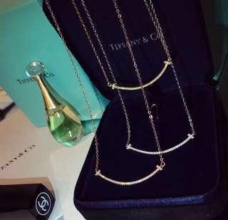 Tiffany 同款 小號 s925純銀 笑臉 頸鏈 項鏈