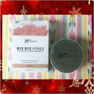 IT Cosmetics Bye Bye Pores Tinted Skin Blurring Finishing Powder
