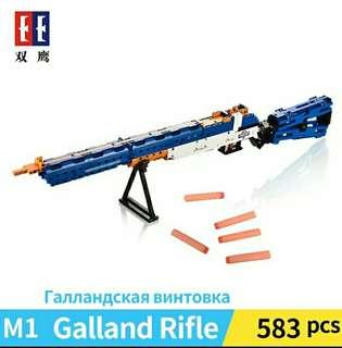 Assorted Brick Rifle Models