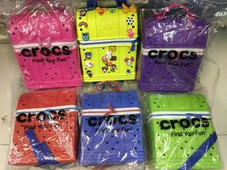 CROCS colorful bags