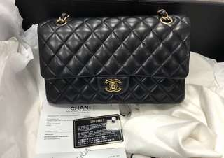 Chanel Classic Flap Lambskin Medium CF