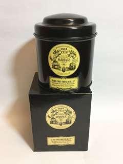 Mariage Freres Paris 1854 Earl Grey French Blue 經典法式藍伯爵茶 100gm, 全新, best before 1/2021, silky black tea, bergamo & royal blue flowers, product of France
