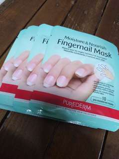 Purederm finger nail mask #1pc