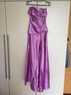 Authentic Jessica McClintock Purple Dress