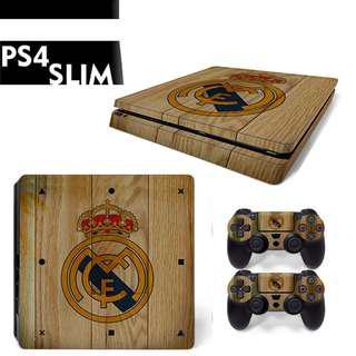 Ps4 slim Real Madrid skin