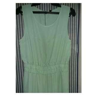 Mint Green Jumpsuit