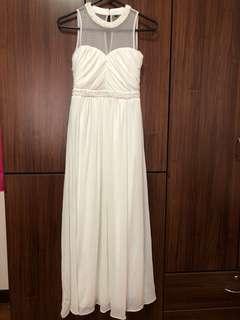 White Maxi Dress (Wedding Dress/Bridesmaid Dress)