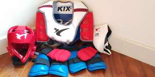 Tawkwando complete sparring gear