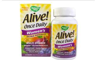 Nature's way, Alive! Womens