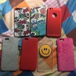 iPhone 6/6s cases bundle + Faux Fur cases