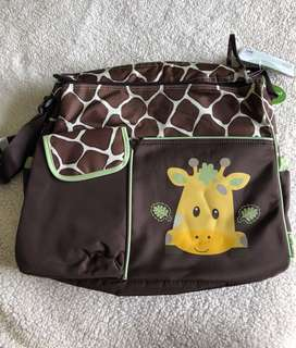 Brand New! Diaper bag with changing mat