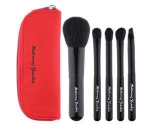 Masami shouko travel brush set (5pcs)