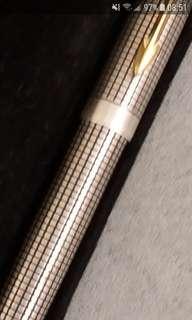 Parker 復克版銀格原子筆
