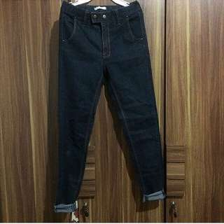 Korea hw jeans 2 button