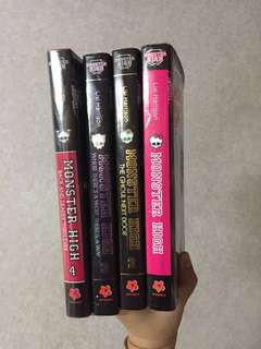 Monster High Books (#1,2,3) by Lisi Harrison