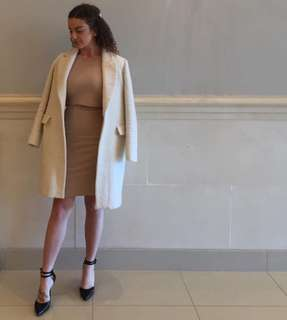 American Apparel Skirt and Crop Top Set