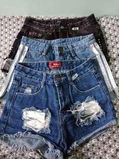 High waist short set size 26