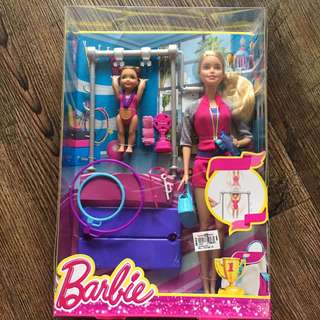 Barbie Gymnastics Coach