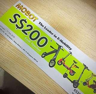 Mobot - 200 Cash Voucher