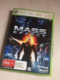 XBOX 360 Mass Effect Game