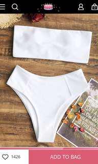ZAFUL Hight Cut Strapless Bikini