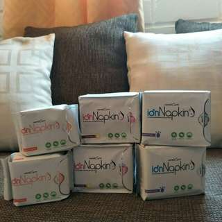 Unified Ion Day Pads, Night Pads and Panty Liner