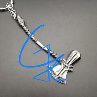 🚚 復仇者3 雷神新武器鑰匙圈