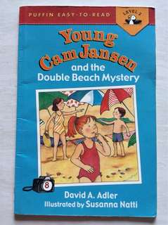 Puffin easy to read : young cam Jansen and the double beach mystery