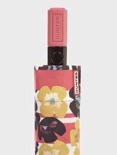 Hunter Original Floral Stripe Automatic Compact Umbrella ☔️ 雨傘 雨遮