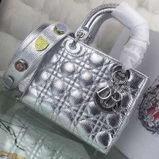 Lady Dior Top Handle Bag 20 (Just look at the price without looking at quality.Please bypass,Tq)