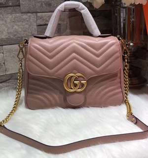 Gucci GG Marmont Top Handle Bag (Just look at the price without looking at quality.Please bypass,Tq)