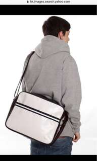 Fred Perry White Classic Shoulder bag