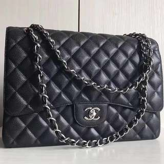 Chanel Classic Maxi Double Flap Bag (Just look at the price without looking at quality.Please bypass,Tq)