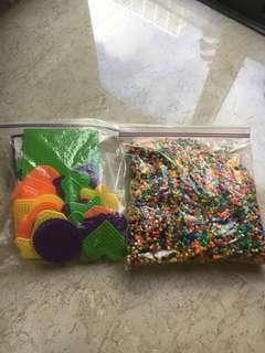 Beads ironing set