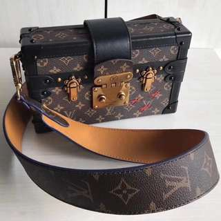 Louis Vuitton Petite Malle In Monogram (Just look at the price without looking at quality.Please bypass,Tq)