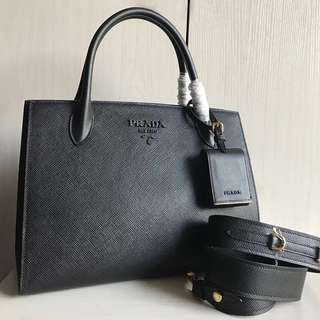 Prada Monochrome Tote (Just look at the price without looking at quality.Please bypass,Tq)