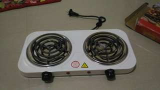 Electric Stove (Double Burner)