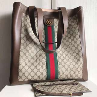 Gucci Ophidia Soft GG Supreme Large Tote (Just look at the price without looking at quality.Please bypass,Tq)