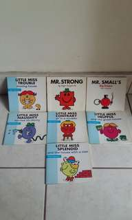 Little Miss books (set price)