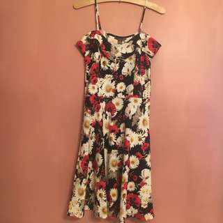 Suzy Shier Floral Dress