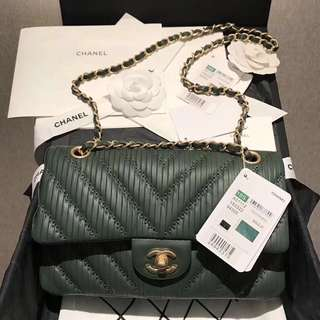 Chanel Cruise Pleated Crumpled Calfskin Classic Flap Bag (Just look at the price without looking at quality.Please bypass,Tq)