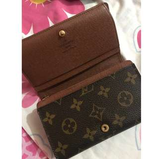 Authentic LV monogram wallet