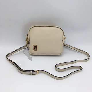 Marc Jacobs Mini Squeeze Bag - cream white