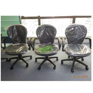CC-812TGA CLERICAL OFFICE CHAIRS COLOR BLACK--KHOMI