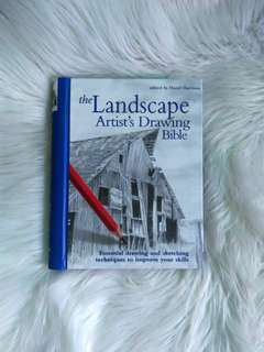 The Landscape Artist's Drawing Bible edited by Hazel Harrison