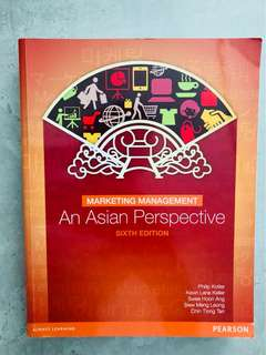 Marketing Management Asian Perspective