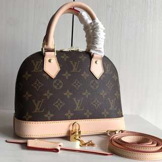 Louis Vuitton Alma BB (Just look at the price without looking at quality.Please bypass,Tq)